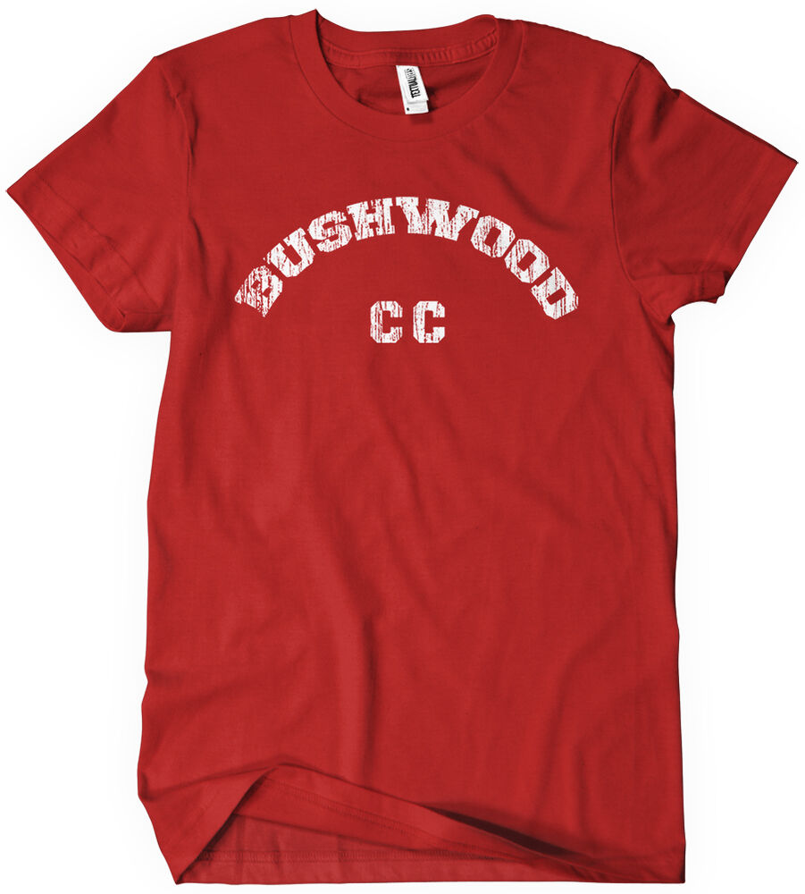 Bushwood country club t shirt funny cotton adult tee sizes for T shirts for clubs