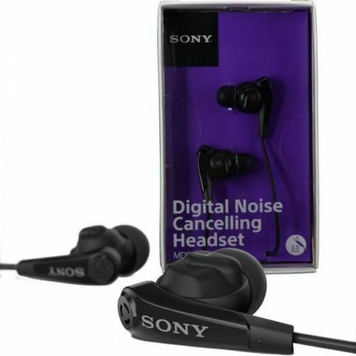sony mdr nc31em digital noise cancelling headset earphones. Black Bedroom Furniture Sets. Home Design Ideas