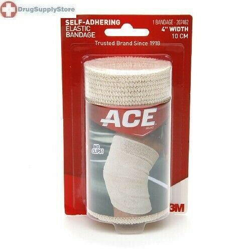 how to clean a self adhesive ace bandage