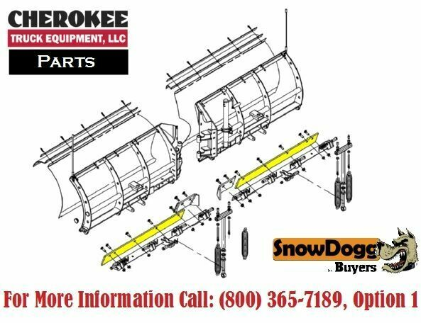 snowdogg  buyers products 16120830  vx95 plow cutting edge
