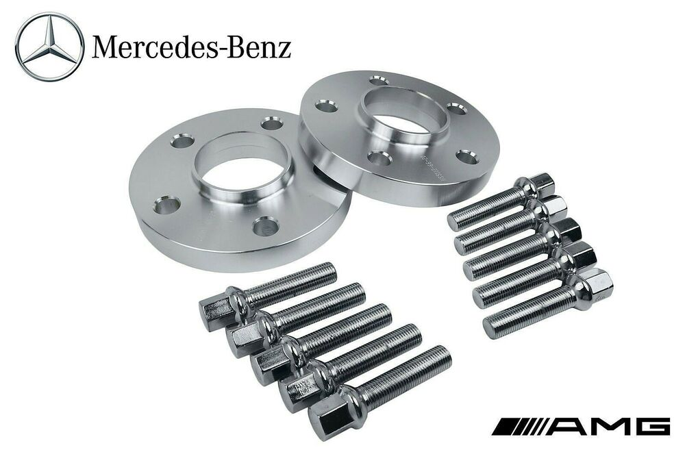 2 5x112 mercedes benz rear hub centric wheel spacers