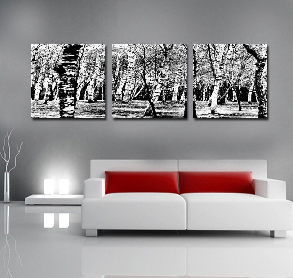 Canvas Prints Wall Art Panorama Modern Photo Poster Tree