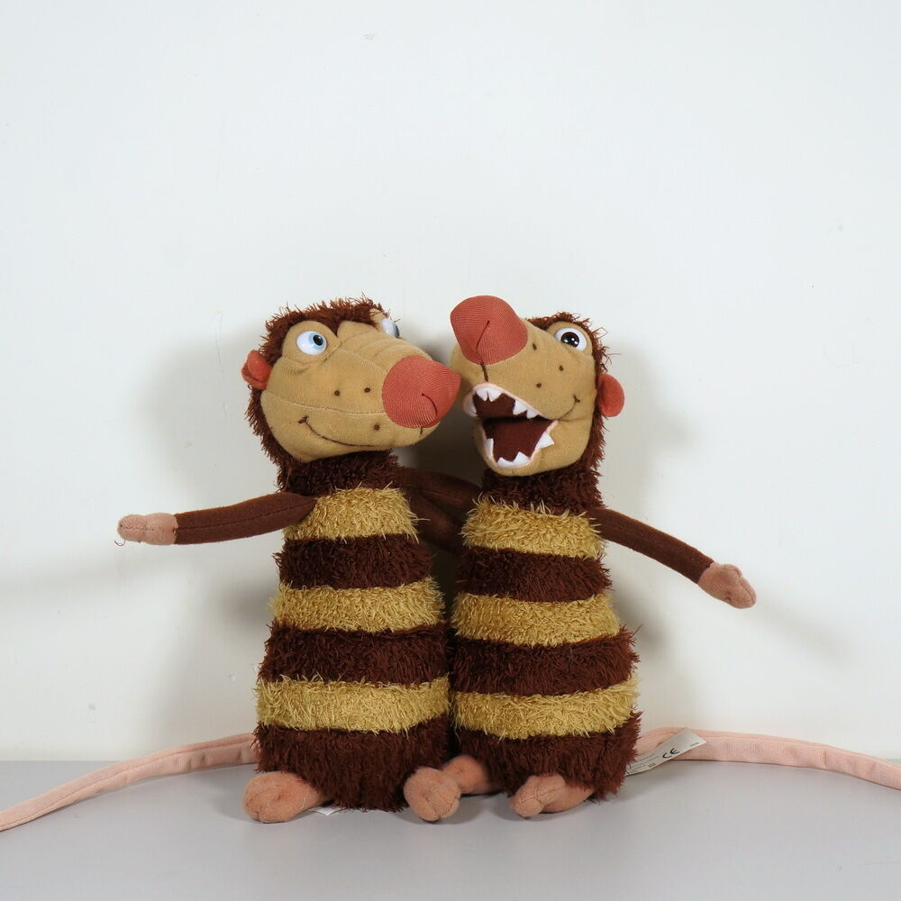 Toys From Ice Age 1 : Ice age crash and eddie opossum stuffed toy set of