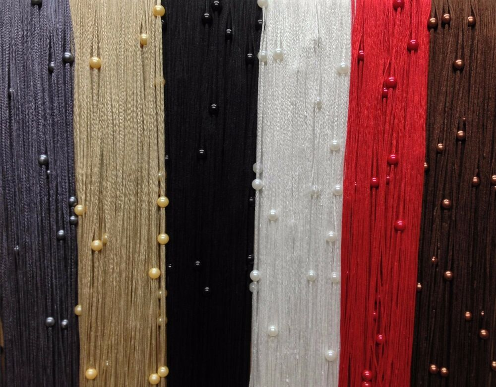 Beaded String Strings Curtain Panels Fly Screen Room
