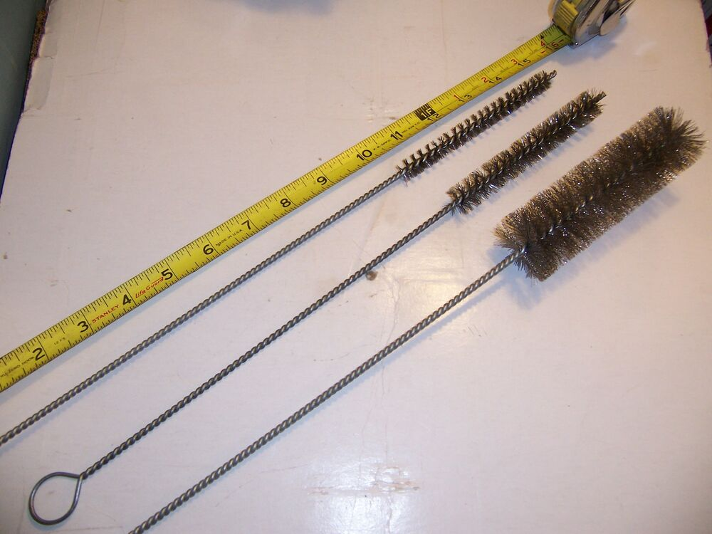Pc tube cleaning wire brushes stainless steel brush pipe
