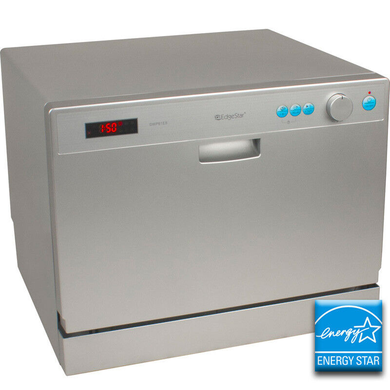 portable countertop dishwasher edgestar compact