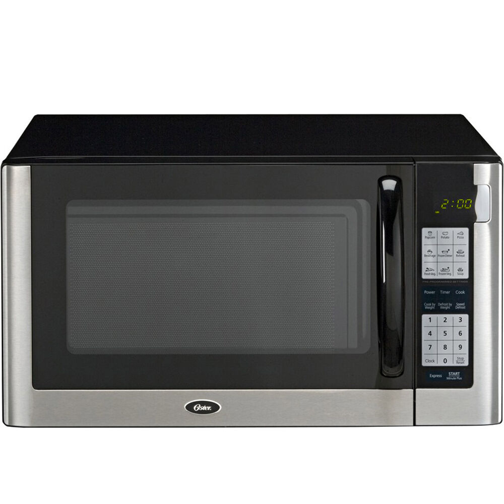 Countertop Microwave With Turntable : ... Countertop Microwave Oven - Oster 1200W Digital Turntable Cooker
