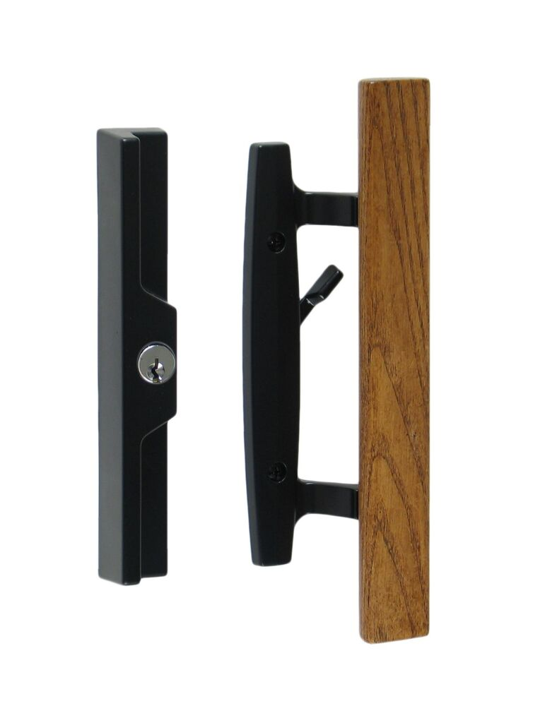 Lanai Sliding Glass Patio Door Handle Pull Set