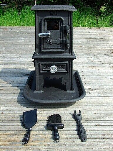 Pipsqueak Portable Wood Burning Stove Heater Bell Tent