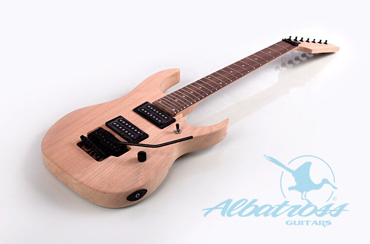 diy mahogany bolt on electric guitar kit 7 string project albatross g041 ebay. Black Bedroom Furniture Sets. Home Design Ideas