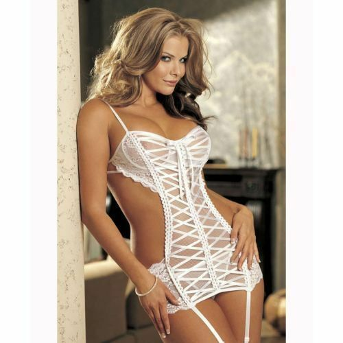Sexy Lingerie Bridal Honeymoon under wear set 8 10 wedding bedroom ...: www.ebay.co.uk/itm/Sexy-Lingerie-Bridal-Honeymoon-under-wear-set-8...