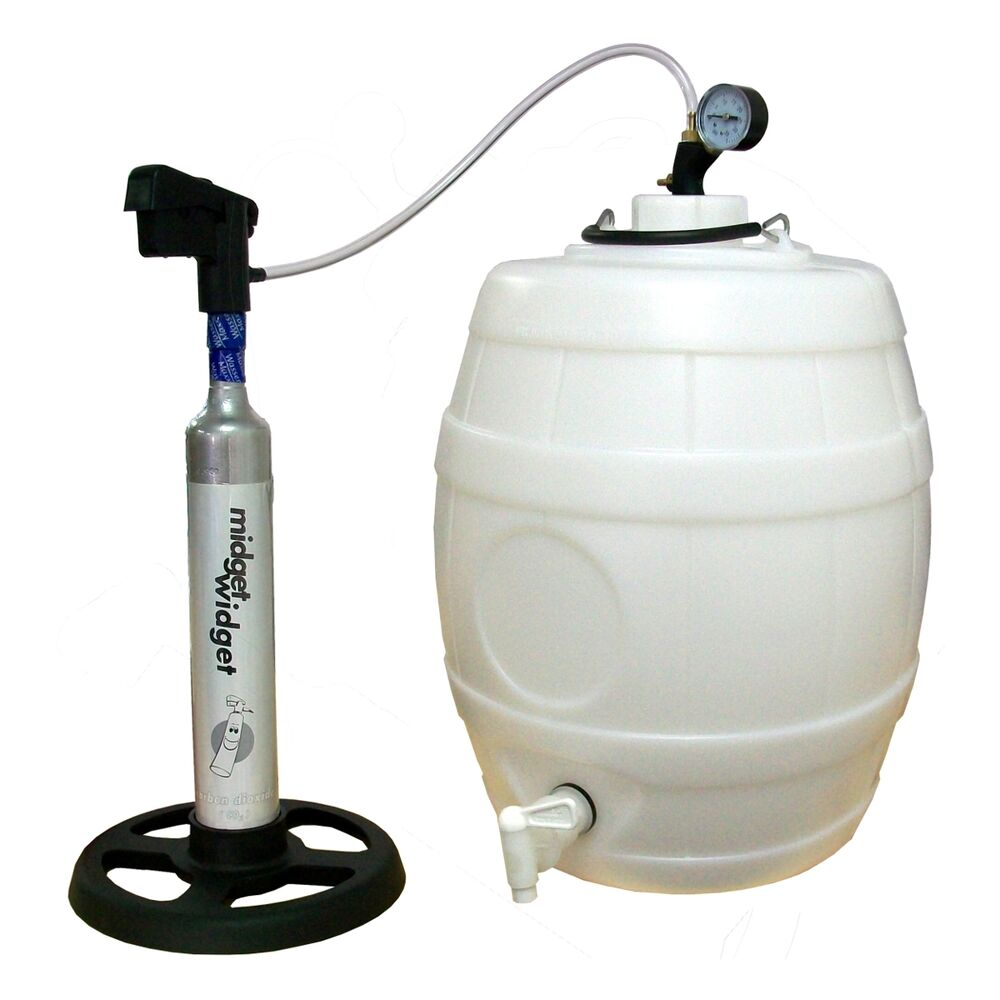Midget Widget Co2 Injection System For Home Brew