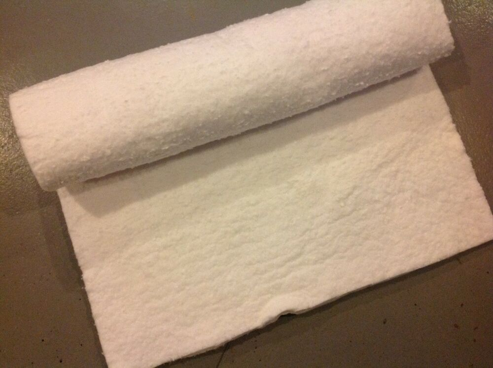 Ceramic Fiber Insulation Blanket for Wood Stoves or Inserts - By the Foot |  eBay - Ceramic Fiber Insulation Blanket For Wood Stoves Or Inserts - By