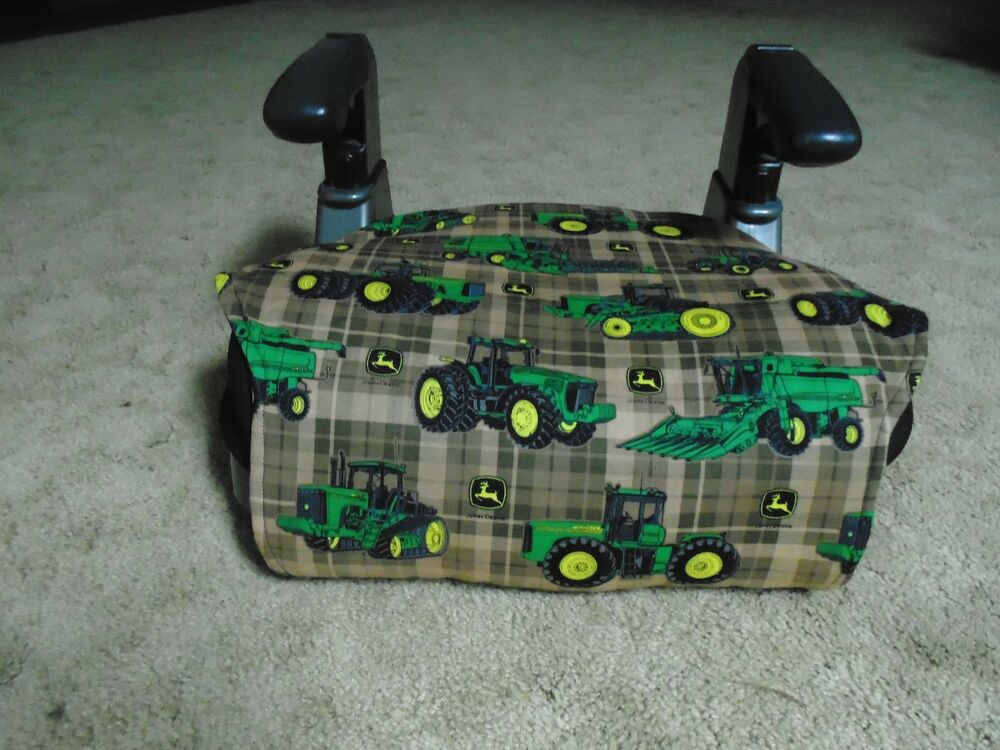 John Deere Car Seat Covers : John deere booster seat cover ebay