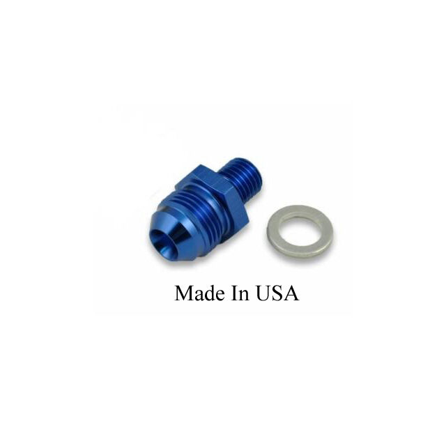 Fuel pump an adapter fitting for bosch inlet single