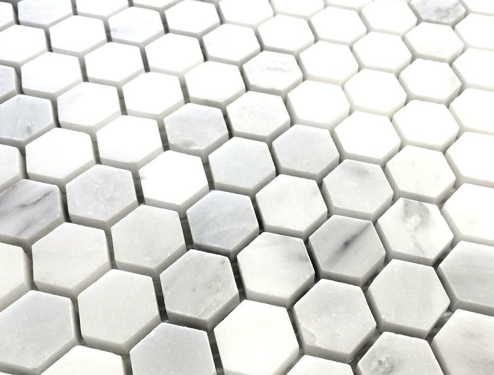 Carrara marble hexagon floor tile 28 images bianco carrara 3 carrara 1 quot hexagon marble mosaic wall and floor tile dailygadgetfo Gallery