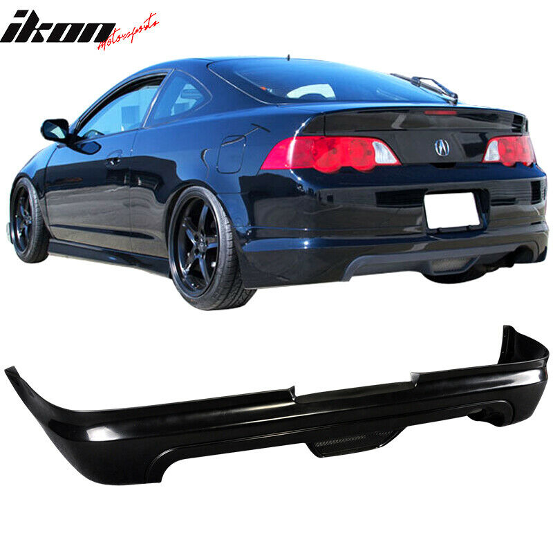 Fits Acura RSX 02-04 2-Door Mugen Style PU Rear Bumper Lip