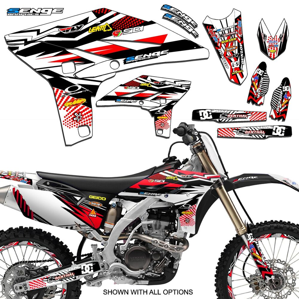 1996 1997 1998 1999 yamaha yz 125 250 graphics yz125 yz250 deco kit stickers ebay. Black Bedroom Furniture Sets. Home Design Ideas