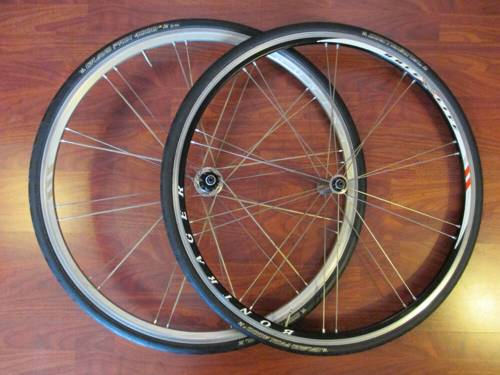 bontrager race x lite campagnolo free hub shop special wheel set grand prix 4000 ebay. Black Bedroom Furniture Sets. Home Design Ideas