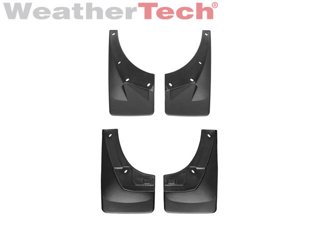 Weathertech 174 No Drill Mudflaps Cadillac Escalade 2007