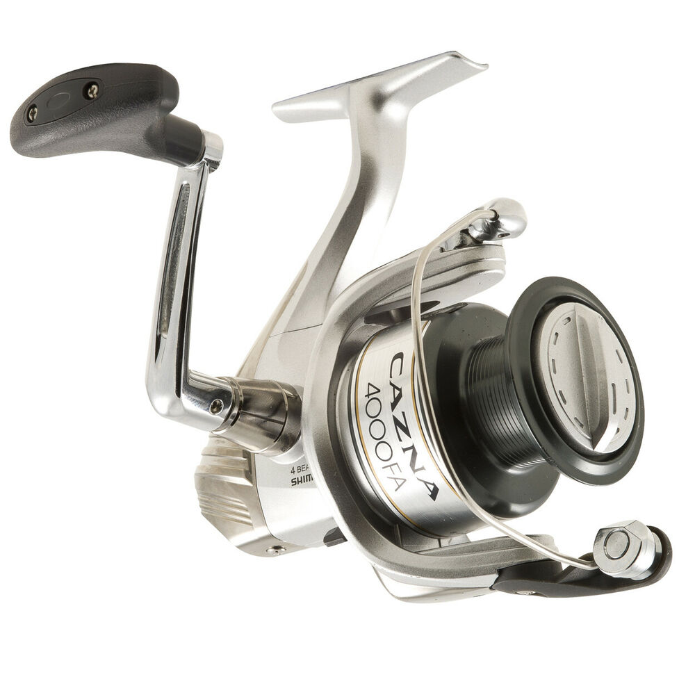 Shimano cazna 4000fa spinning fishing reel brand new at for Ebay fishing reels shimano