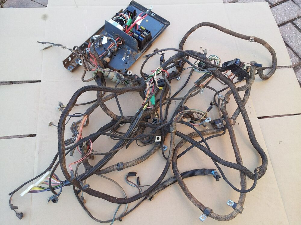 bobcat skid steer control wiring bobcat skid steer wiring diagram new holland oem skid steer complete wiring harness with ...