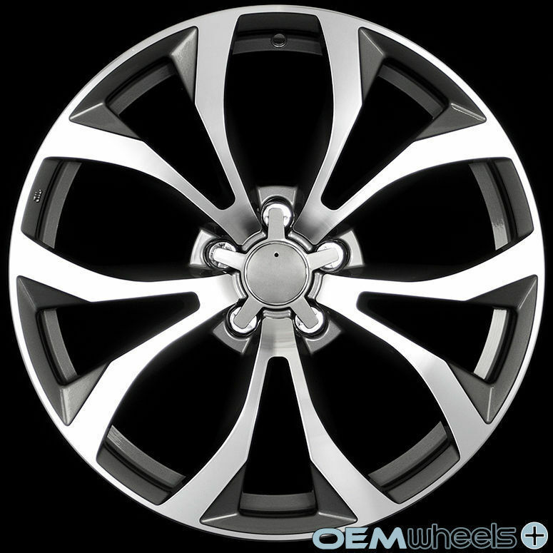 """18"""" GREY S-LINE STYLE WHEELS FITS AUDI A6 S6 RS6 A7 S7 C4"""
