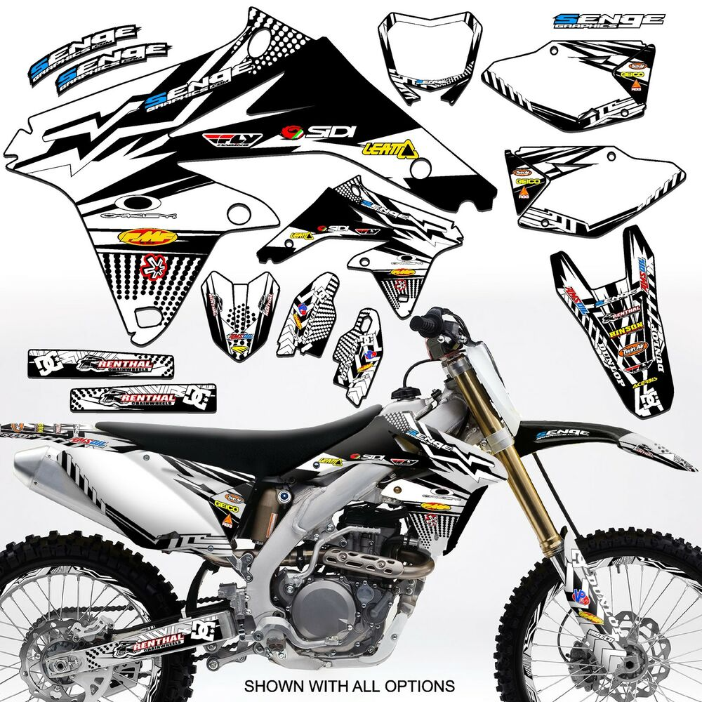 1999 2000 suzuki rm125 rm 125 graphics kit 99 00 decals deco stickers motocross ebay. Black Bedroom Furniture Sets. Home Design Ideas