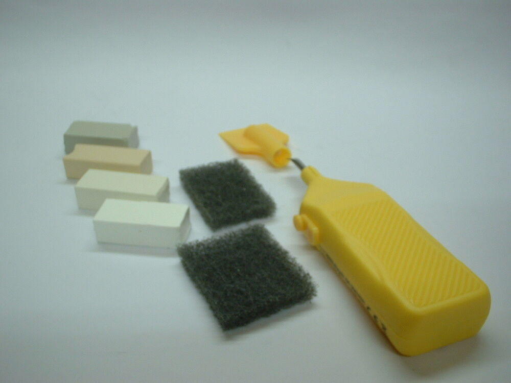 Ceramic Amp Vinyl Tile Repair Kit Any White Off White