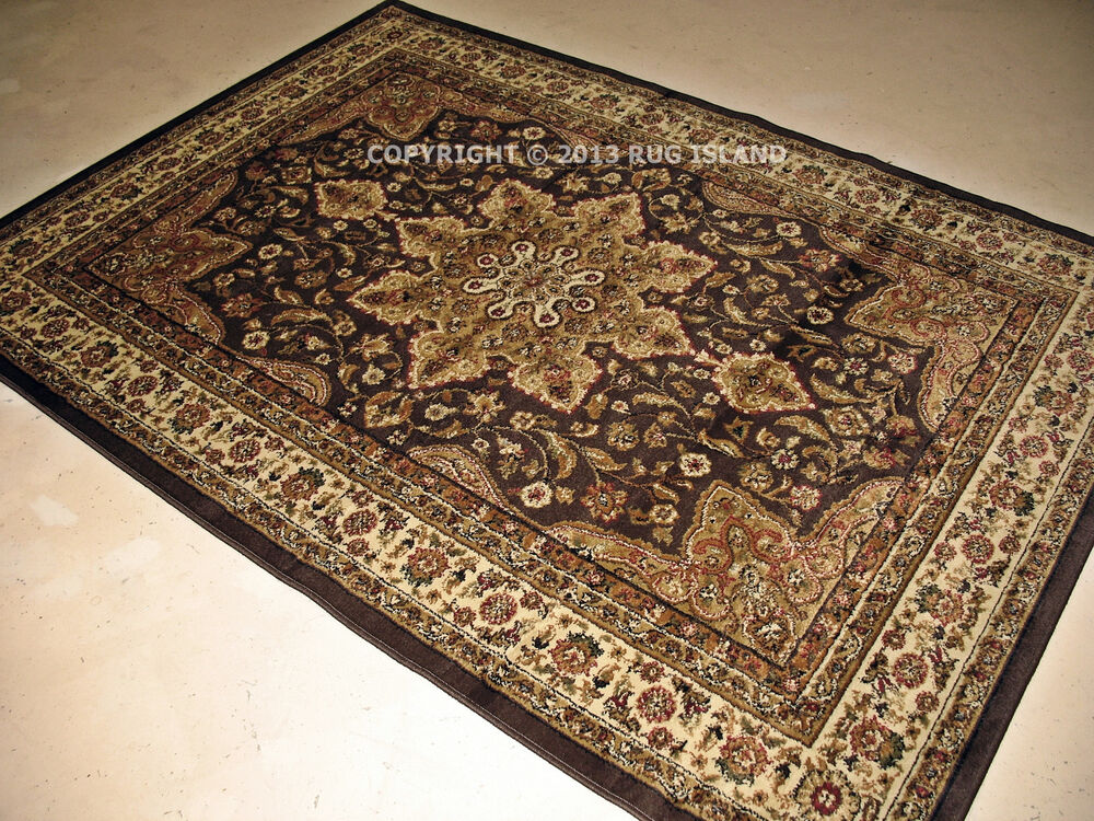5x8 5 3 Quot X 7 2 Quot Traditional Oriental Persian Brown
