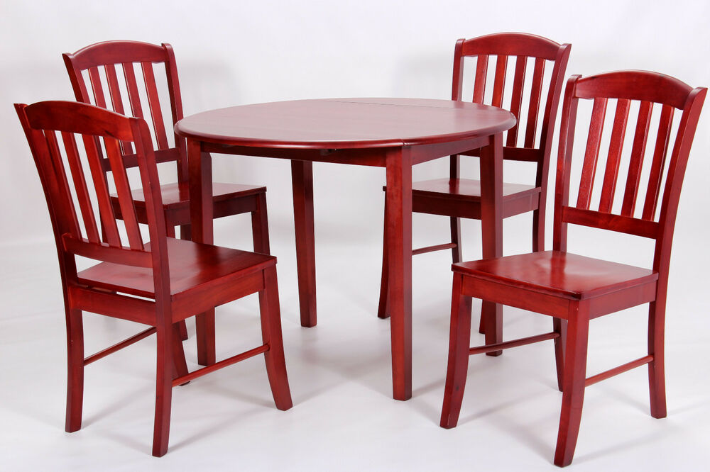 Southall Drop Leaf Round Dining Table with Four Chairs  : s l1000 from www.ebay.co.uk size 1000 x 666 jpeg 88kB