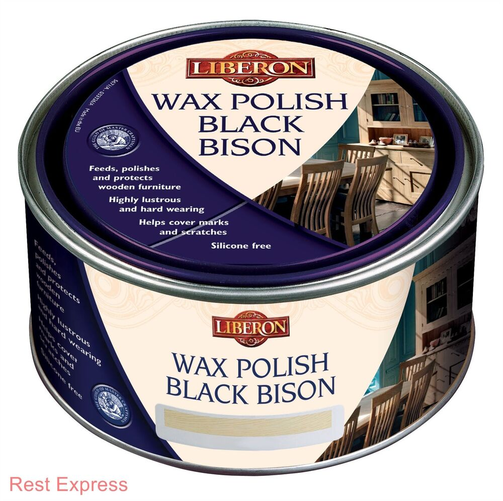 0000 Steel Wool Wax: Liberon Black Bison Paste Wax Furniture Polish