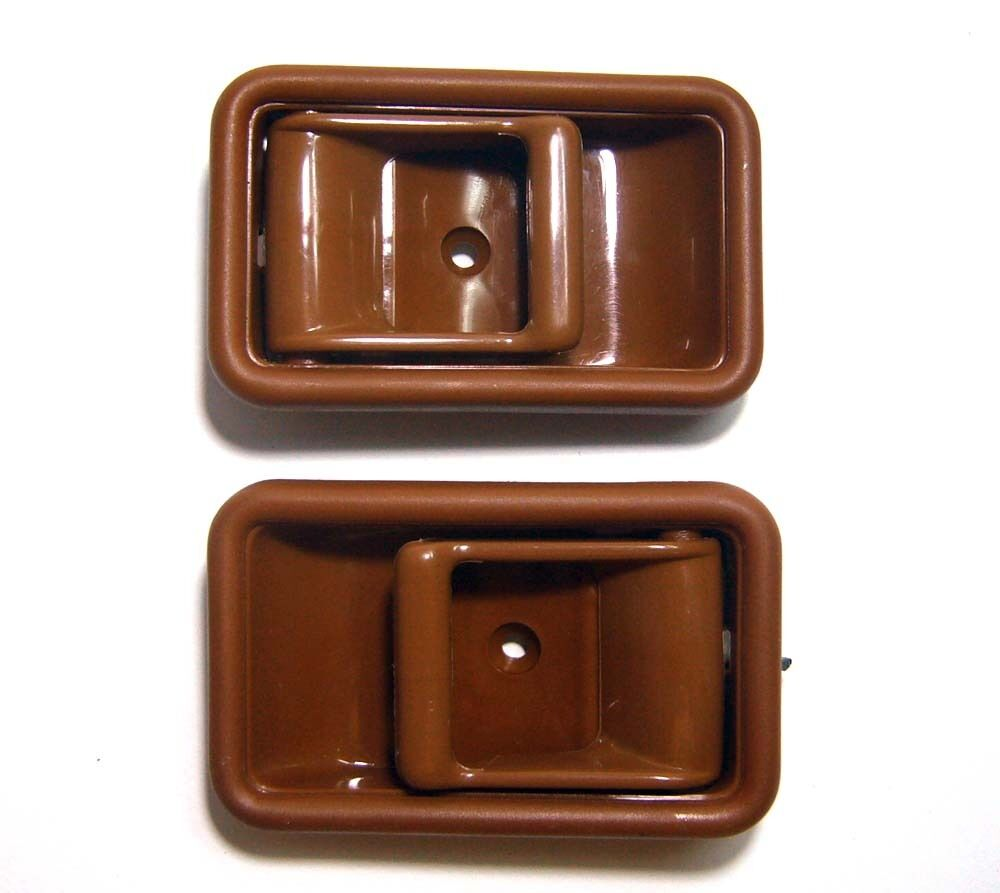 Pair Interior Inside Door Handle Fits Mazda Bravo B Series B2000 323 2200 Brown Ebay
