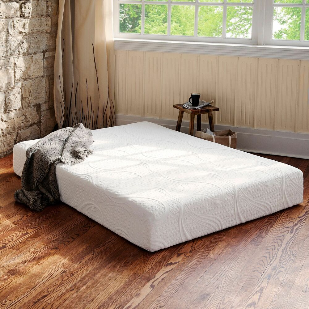 8 inch memory foam mattress twin xl full queen king size bed bedroom sleep new ebay Full size memory foam mattress
