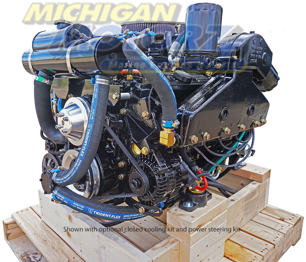 5 7l volvo penta replacement engine package 5 7l 350 ci. Black Bedroom Furniture Sets. Home Design Ideas