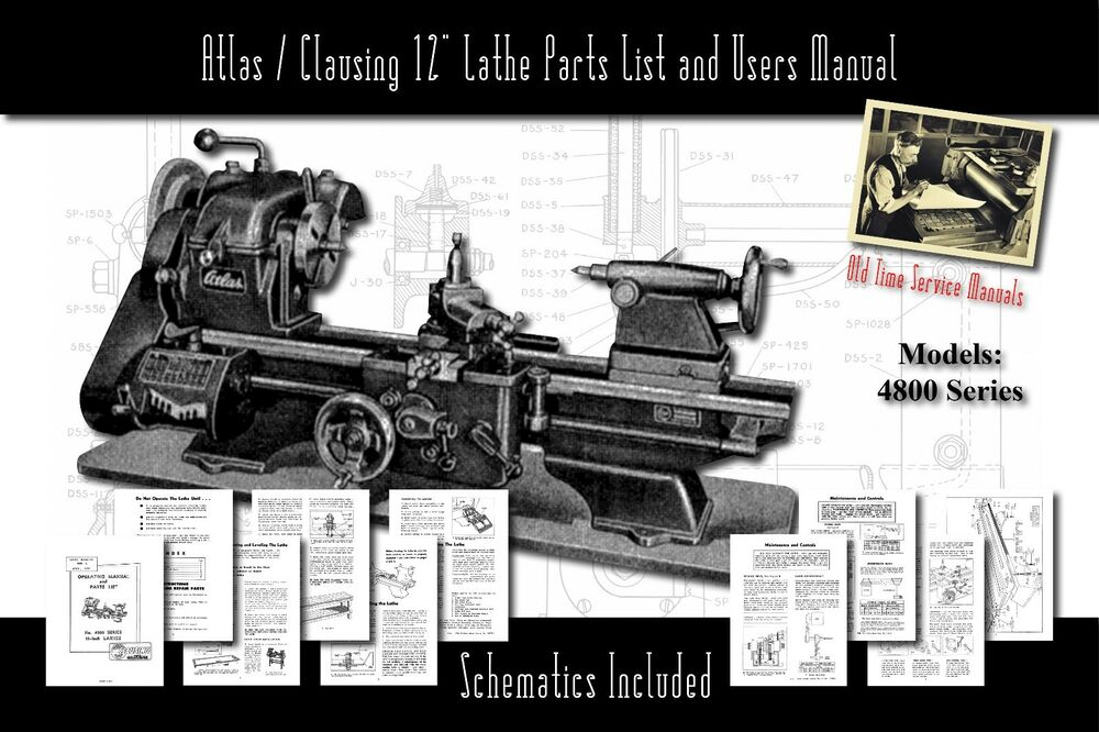 Clausing lathe 6913 manual