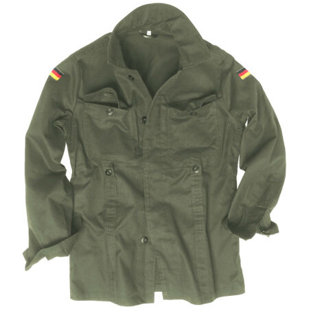 img-Mil-Tec BW German Army Tactical Moleskin Mens Shirt Combat Military Jacket Olive