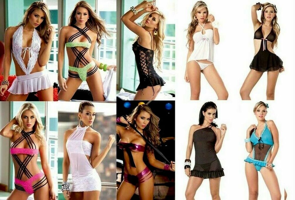 Details about New WHOLESALE LOT Baby Doll Camisole Teddy GoGo LINGERIE  Thong G-STRING S M L XL fcf7144c0