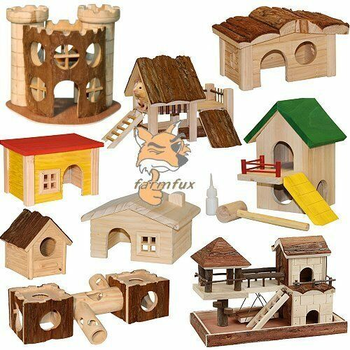 hamsterhaus hamsterspielplatz spielplatz haus hamster m use hamsterburg h hle ebay. Black Bedroom Furniture Sets. Home Design Ideas