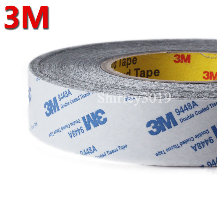 3m Black 20mm 50m Sticker Tape Adhesive For Cellphone