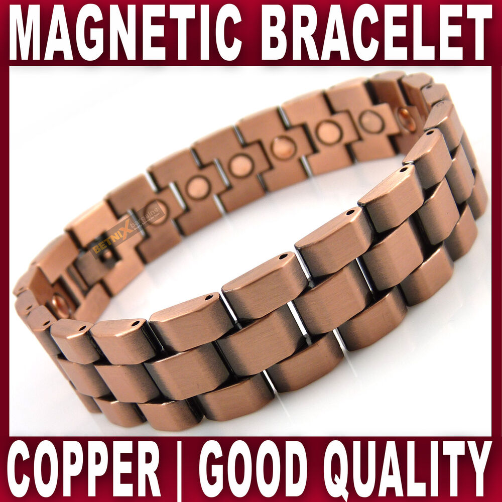 mens magnetic therapy bracelet 20 magnets bangle quality
