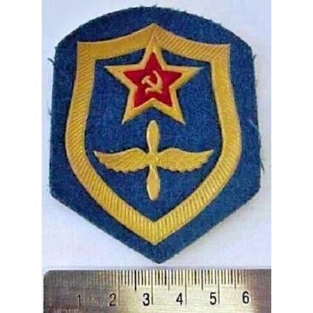 img-Original Soviet Russian Airforce Air Force Uniform Military Sleeve Patch Badge