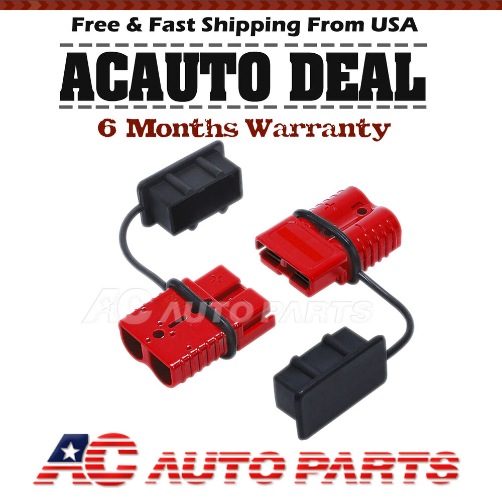175a battery quick connect  disconnect wire harness plug connector winch trailer ebay 4 Pin Quick Disconnects 12 Quick Disconnect Plugs Amazon