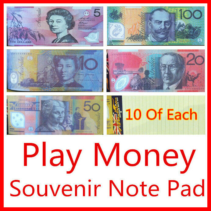 Play Money Toy : Childrens kids toy fake pretend play money notes