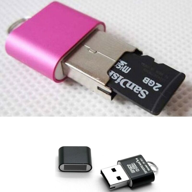 new high speed mini usb 2 0 micro sd tf t flash memory card reader adapter 1pc ebay. Black Bedroom Furniture Sets. Home Design Ideas