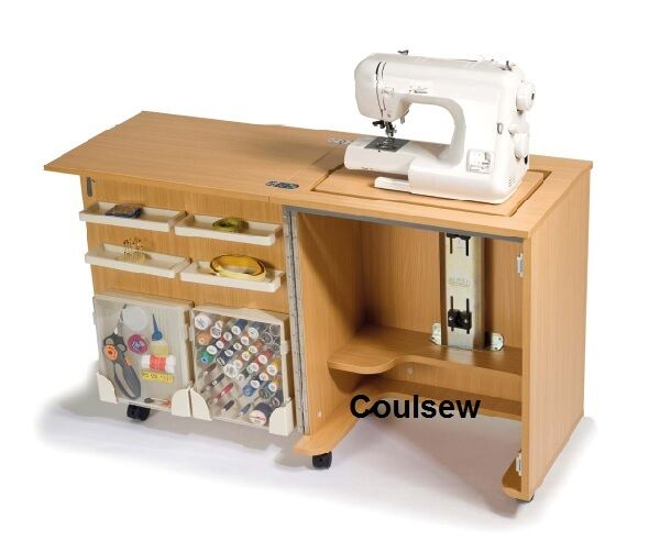 Sewing machine compact cabinet horn cub plus 1010 new - Small sewing machine table ...