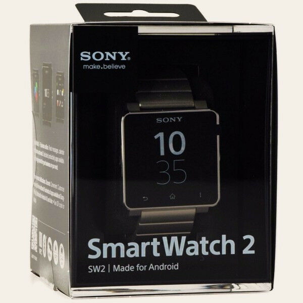 SONY SW2 SmartWatch 2 NFC Bluetooth Android Watch SILVER ...