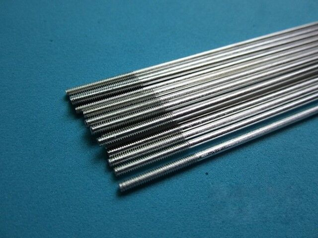 M2 Threaded One End Stainless Steel Push Rod 250mm Long