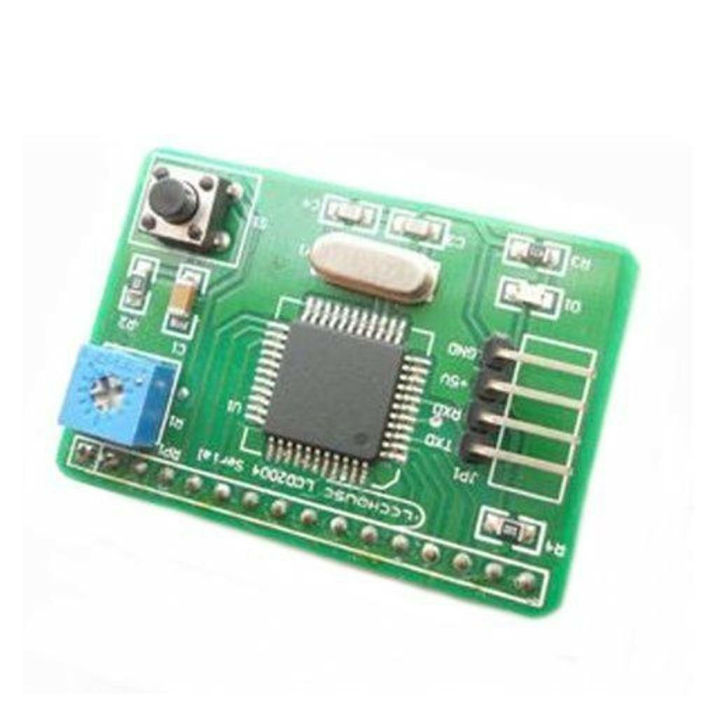 Serial lcd controller module with uart interface arduino