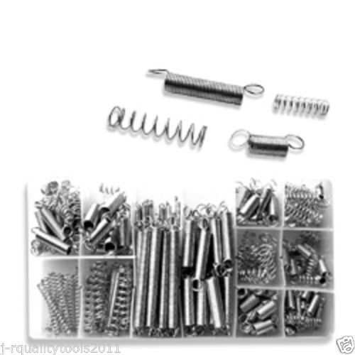 200 Small Metal Loose Steel Coil Springs Assortment Kit Ebay